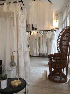 Les robes de mariée de l'atelier