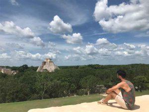 Cité maya d'Uxmal