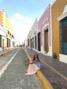 Rue de la ville de Campeche