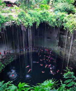 Le fameux Cenote !